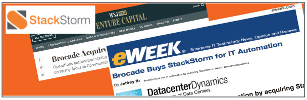 brocade acquires stackstorm